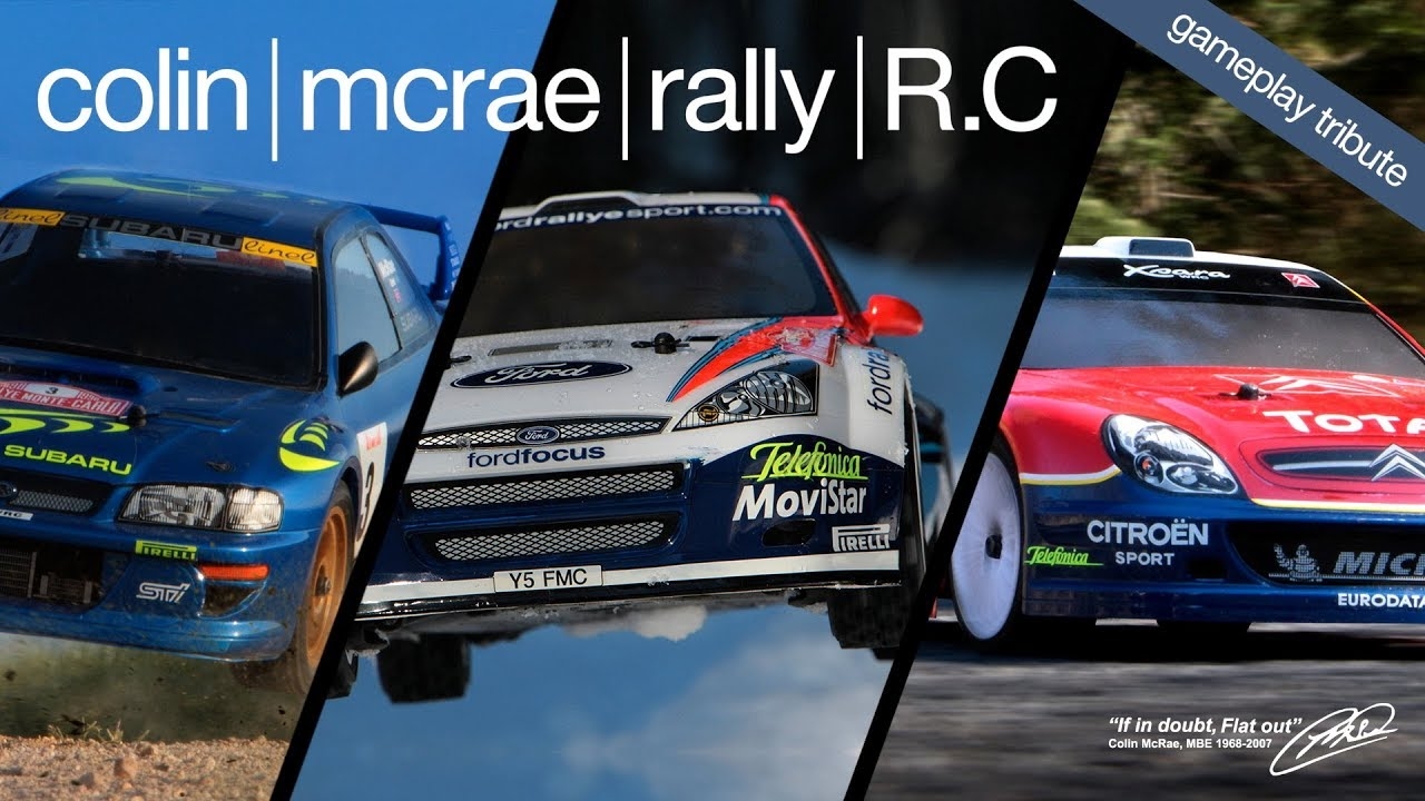 Gameplay WRC / RC Rally Car Chase