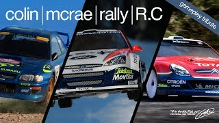 Colin McRae Rally RC - Gameplay WRC / RC Rally Car Chase. (Impreza/Lancer/206)