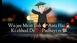BEST Whatsapp Status Song Video For Students