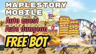 Free Maplestory Mobile Bot, Auto Quest & Auto Dungeon