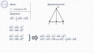Геометрия 9 класс. Применение векторов к решению задач