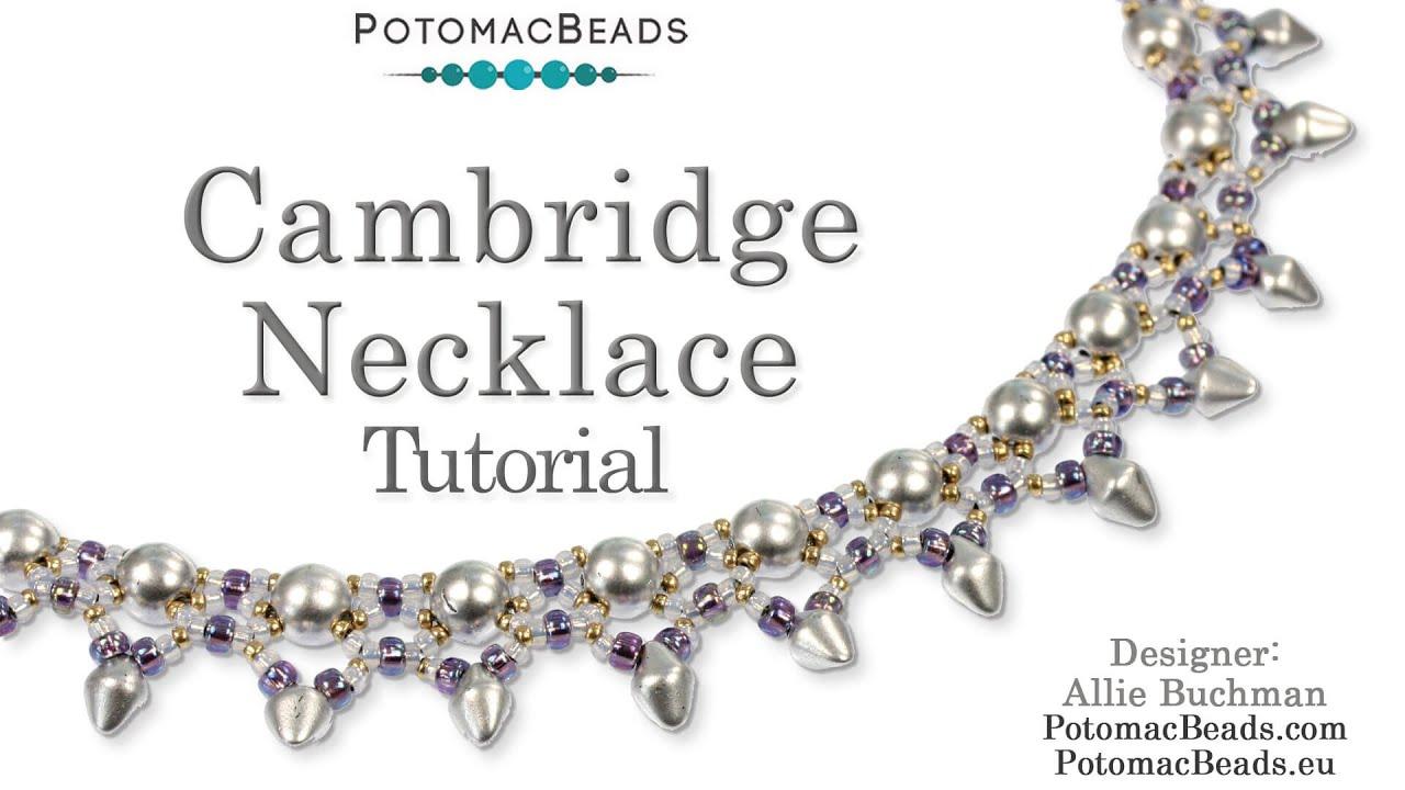 Cambridge Necklace (Tutorial) - YouTube