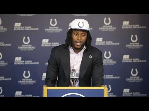 Colts Malik Hooker talks about getting call from Colts
