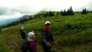 Подъем на гору Иеремель второй по величине гору Урала