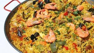 Paëlla au poulet, au chorizo et aux fruits de mer - Cooking With Morgane