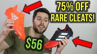 TOP-END SOCCER CLEATS AND MATCH BALLS FOR $56! *US, UK and Europe!*