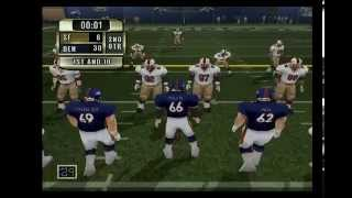 NFL GAMEDAY 2001 |BRONCOS vs 49ERS| 2ND QTR [PS2] [HD]