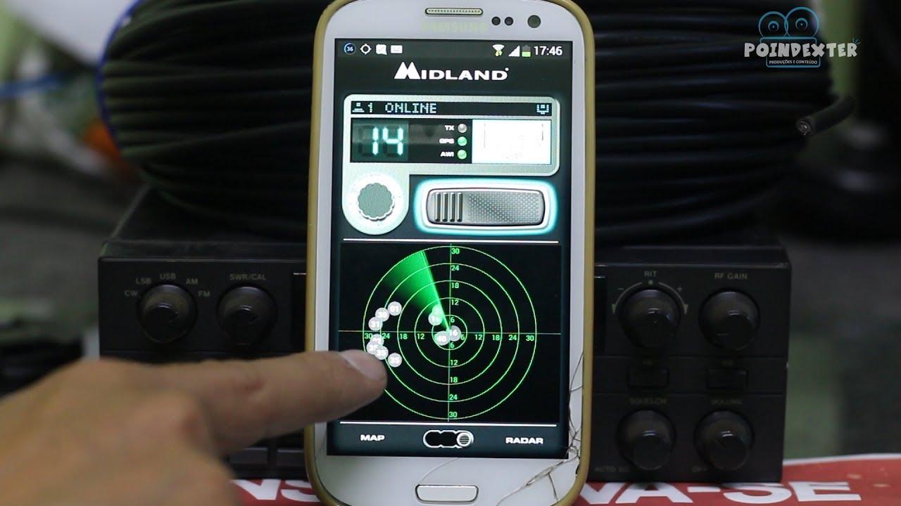 #1 Radio PX no celular app CB radio midland talk-SUCESSO NA FAIXA DO CIDADÃO