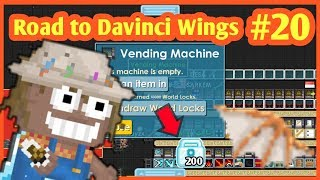 COLLECTING WORLD LOCK [RIPPER WING]🔒| Road to Davinci Wings #20 | Growtopia