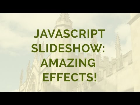Javascript Slideshow - JS Slideshow