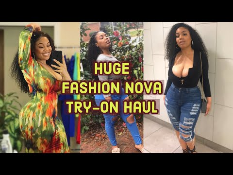 Spring 2019 Baddie Fits! | Huge Fashion Nova Curve Try-On Haul