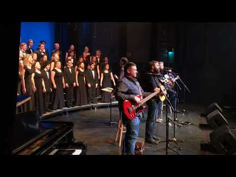 """St. John's Train"" Rum Ragged backed by Holy Heart Chamber Choir"