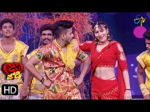 Suraj Bhargav and Priyanka Performance | Dhee Jodi | 12th December 2018 | ETV Telugu