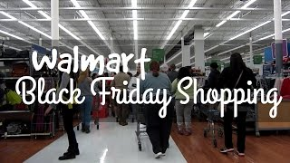 Walmart Black Friday Shopping 2015