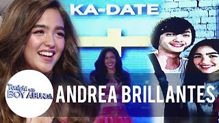 Andrea and Seth are dating | TWBA