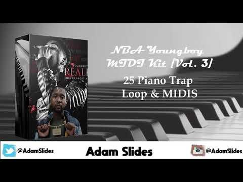 FREE] Zaytoven x NBA Youngboy MIDI Kit | Free Zaytoven Loop
