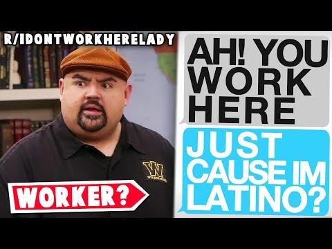 "r/idontworkherelady | ""Yes I speak English, No I don't work here..."""