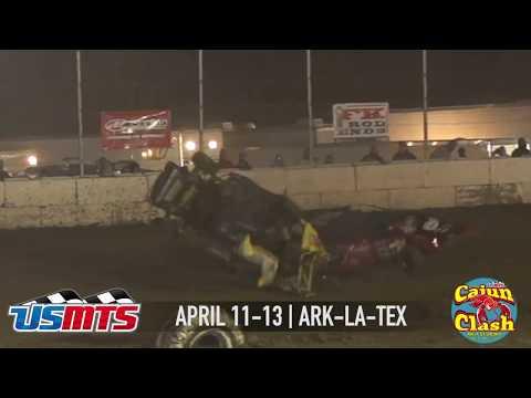 USMTS Cajun Clash at Ark-La-Tex Speedway April 11-13