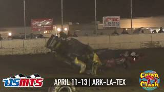 USMTS Cajun Clash at Ark-La-Tex Speedway April 11-13