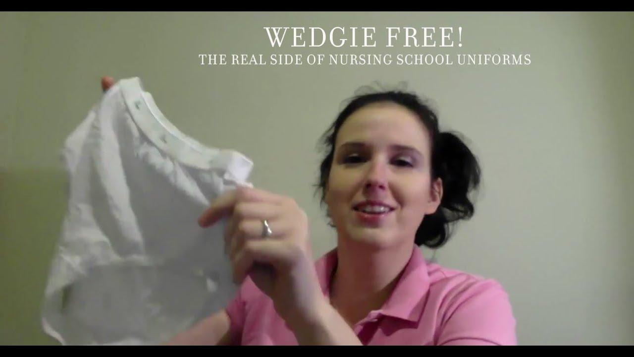 Im Wedgie Free - Nursing School Uniforms - Youtube-9685