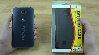 zerolemon nexus 6 3500mah slim power battery case unboxing