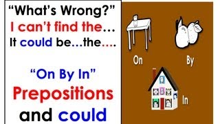 It could be...| On, By,  In | Prepositions | Easy English Conversation Practice.
