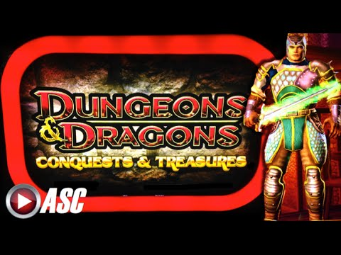 DUNGEONS & DRAGONS: CONQUESTS & TREASURES - Konami - Slot Machine Bonus - 동영상