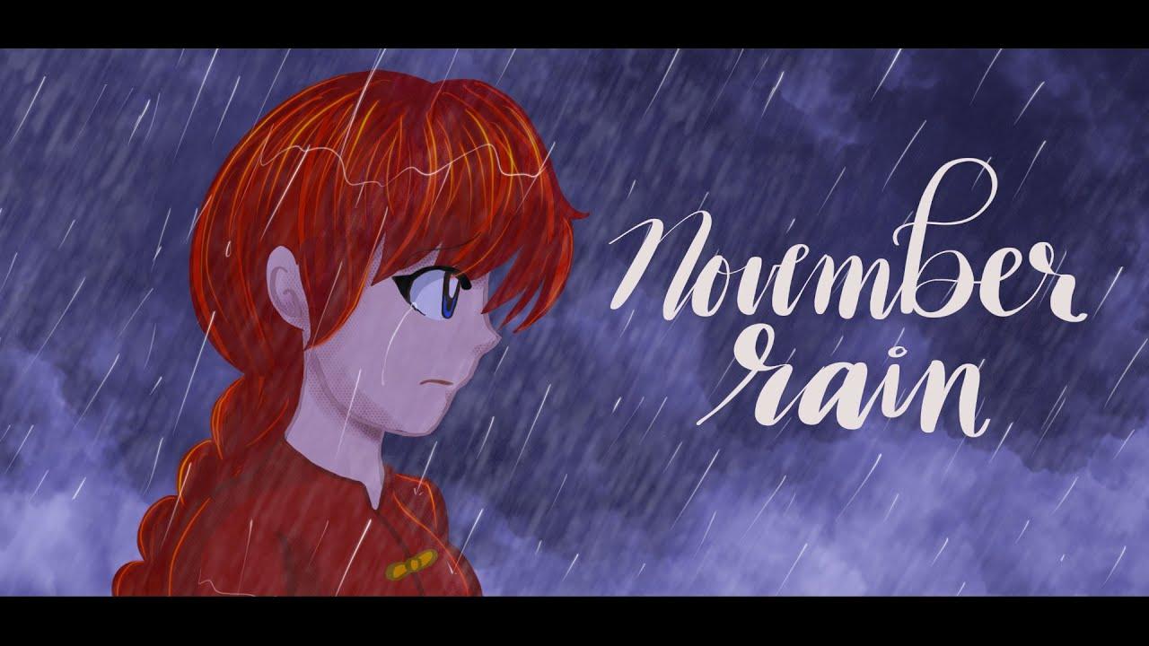 【xHxWx】 Ranma 1/2   らんま 1/2   November Rain English Cover
