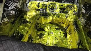 Chevrolet Lacetti шумоизоляция качественными материалами Комфортмат (один из максимальных вариантов)