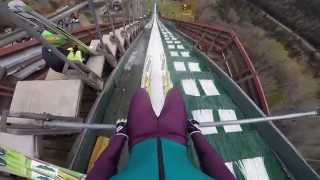 GoPro Ski Jumping in Lake Placid, NY, USA