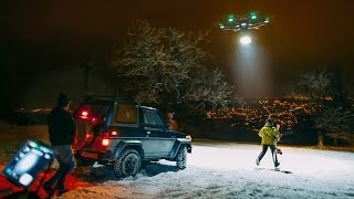 TURBOMETAL motorblog /// Moonlight riders - 25000 Lumen Drone LED Light