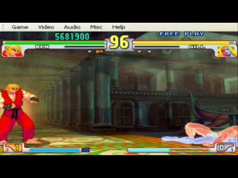 Street Fighter III 3rd Strike - Ken vs Gill