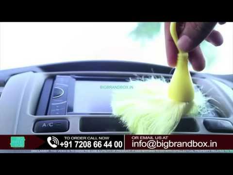Nylon Mini Duster Multi Color- Cleaning Tools.
