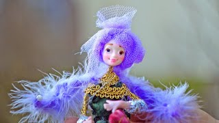 Funny Little Prince With Wings - OOAK Art Dolls Elves.