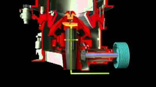 Гидравлическая конусная дробилка SMH(, 2012-04-12T13:40:51.000Z)
