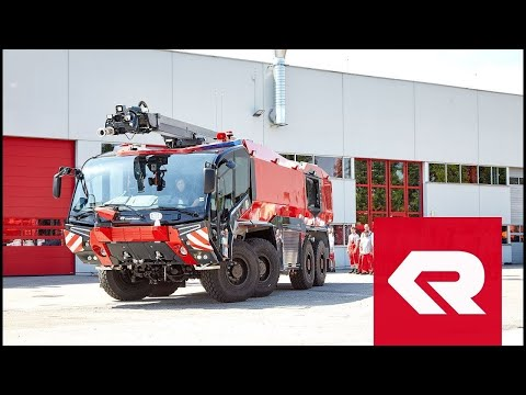 Rosenbauer PANTHER 8x8 is Taking Off