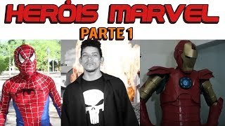 Heróis Marvel Conspiração (PARTE 1) - Conspirashow #9