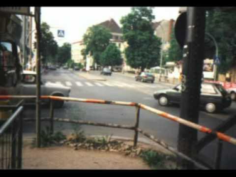 U Bahnbau in Berlin Pankow Mitte der 9ziger Jahre