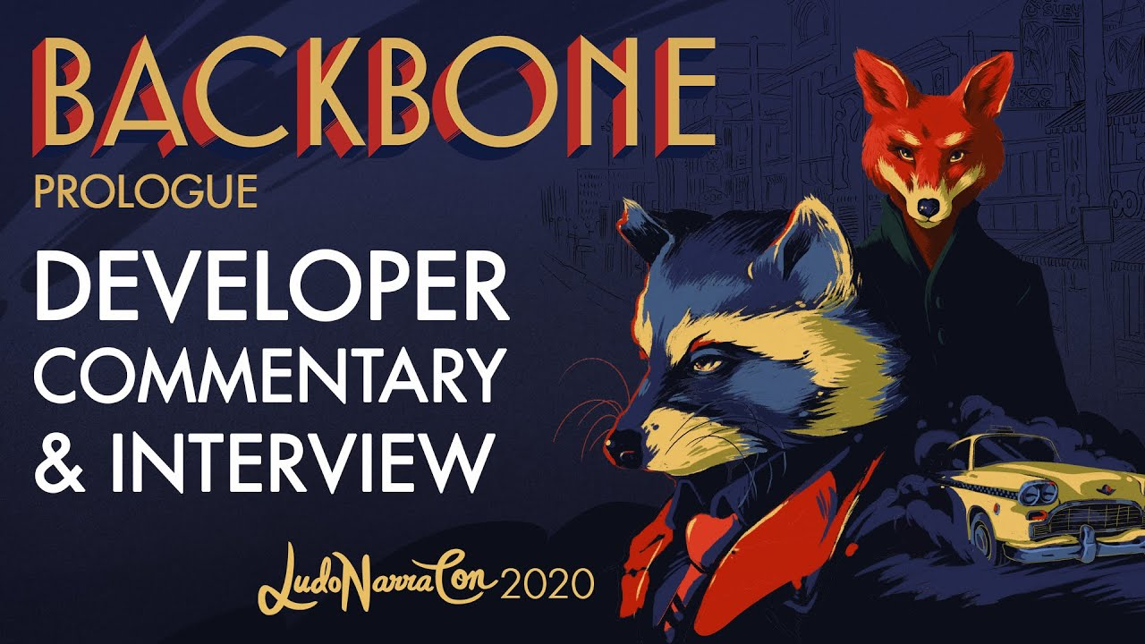 Backbone - Prologue with developer commentary and interview - LudoNarraCon 2020