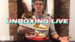 UNBOXING LIVE: Air Jordan 1 Rookie of the Year