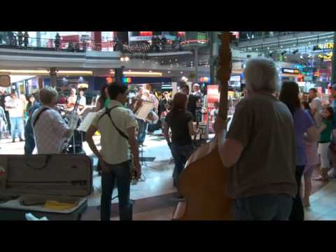 Eishmedia presents Cape Philharmonic Orchestra Flashmob - Canal Walk, Cape Town
