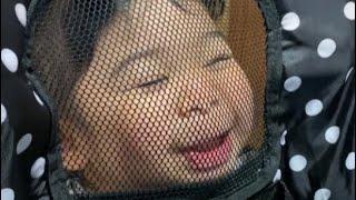 【2歳☆はな・姉♡こなつ】変顔 Funny face अजीब चेहरा