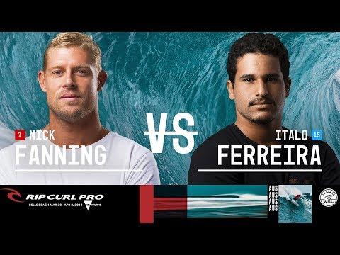 Mick Fanning vs. Italo Ferreira - FINAL - Rip Curl Pro Bells Beach 2018