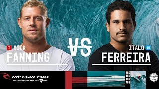 Mick Fanning vs. Italo Ferreira - FINAL - Rip Curl Pro Bells Beach 2018