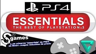 """GREATEST HITS ¡Los primeros """"essentials"""" de PS4 se filtran! Juegos reducidos de precio"""