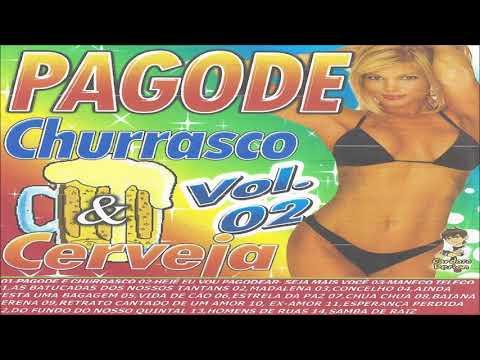 CD PAGODE CHURRASCO E CERVEJA - VOL 02