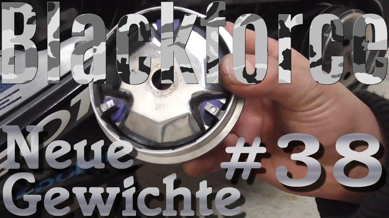 jetforce umbau dayli #38 neue gewichte - variomatik abstimmen - youtube