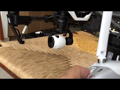 How to control yaw with the gimbal dial - DJI Inspire 1