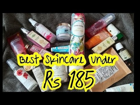 Best SkinCare Under Rs 185 | Most Effective & Affordable |