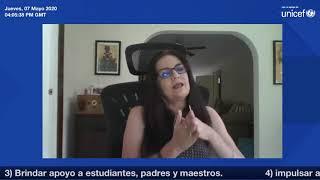 Ruth Custode Oficina Regional UNICEF - Panamá - TV Educativa en tiempos de cuarentena